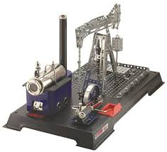 WILESCO D11 Steam Engine Metal Construction Kit - W00011