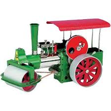 WILESCO D365 Scale Steam Roller - W00365