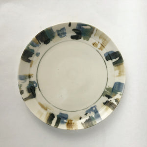 NEW dinner plate in 'Paintbox' - limited stock