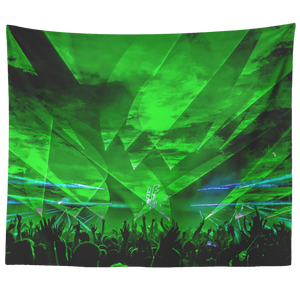 Green Pew Tapestry