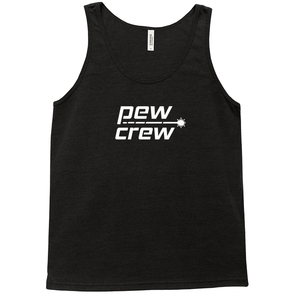 Pew Crew Black Tank Top