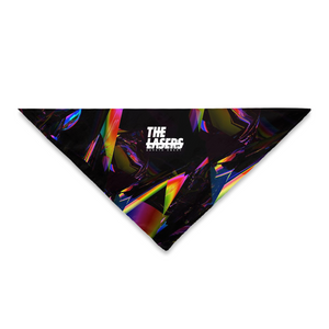THE LASERS triangle bandana