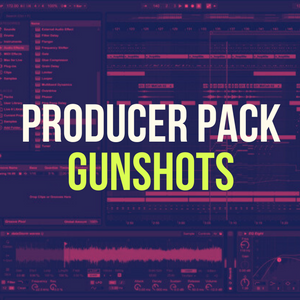 'Gunshots' Producer Pack