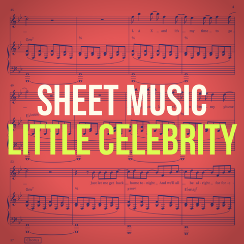 'Little Celebrity' Sheet Music