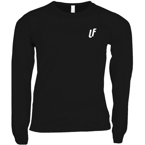 Laserface Black Long Sleeve