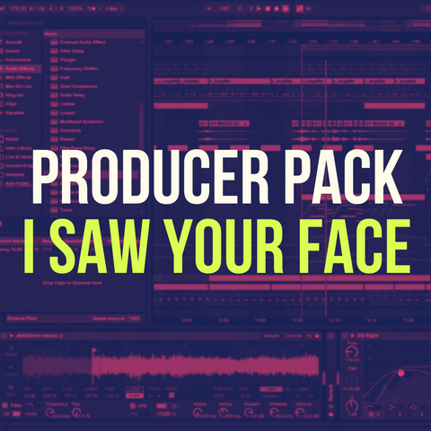 'I Saw Your Face' Producer Pack