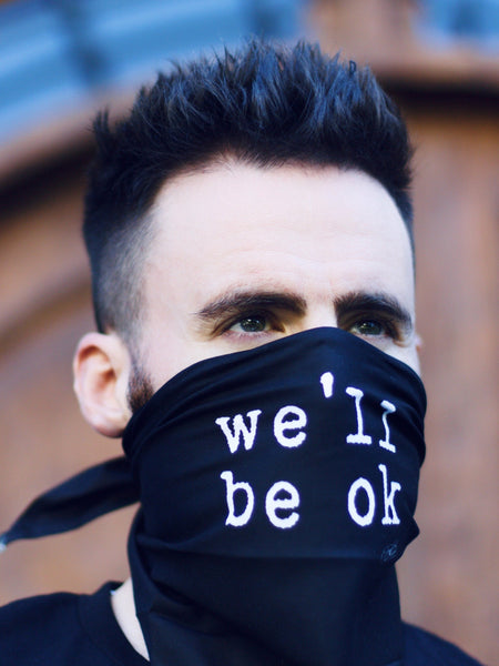 we'll be ok - triangle bandana