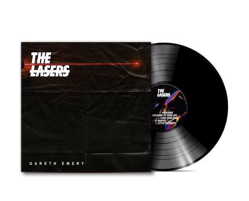 "THE LASERS 12"" Vinyl (Black Edition)"