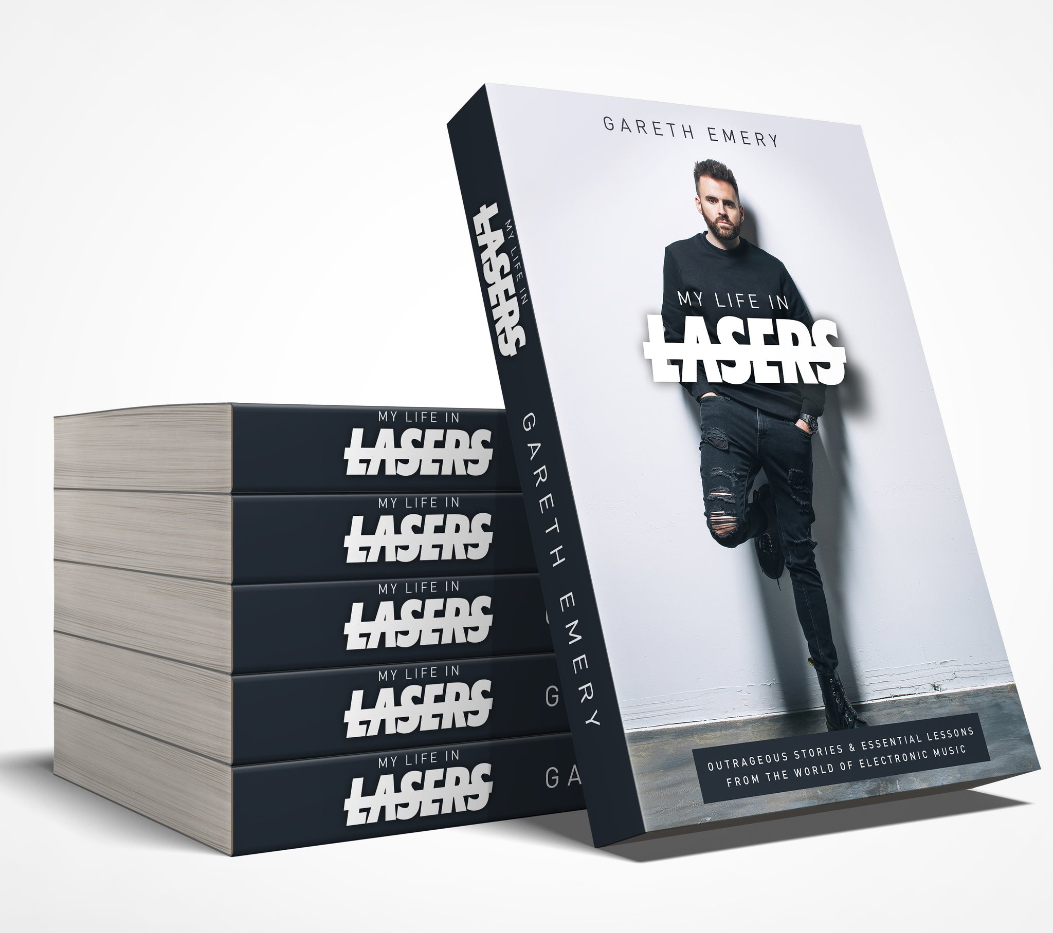 My Life In Lasers: a dance music memoir (pre-order)