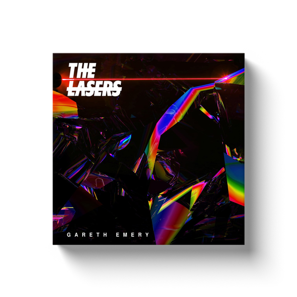 THE LASERS canvas album art