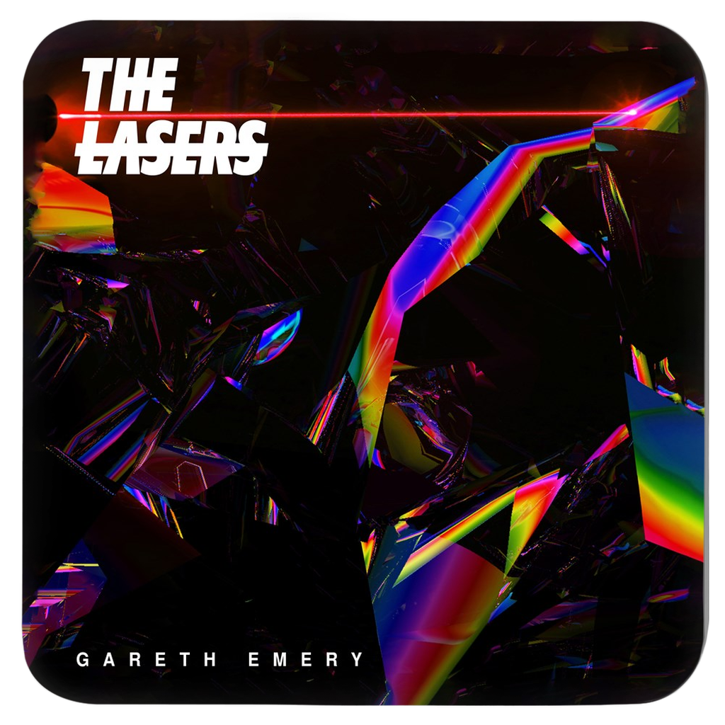 gareth emery album art coasters