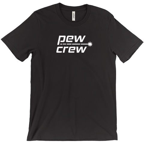 Pew Crew Black T-Shirt