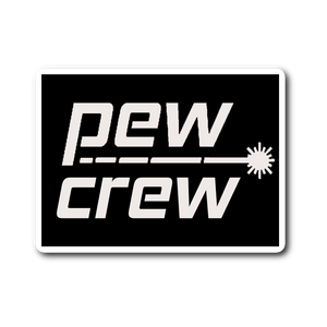 Pew Crew Sticker