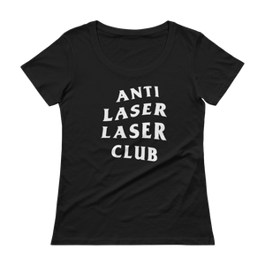 Anti-Laser Ladies' Scoopneck T-Shirt
