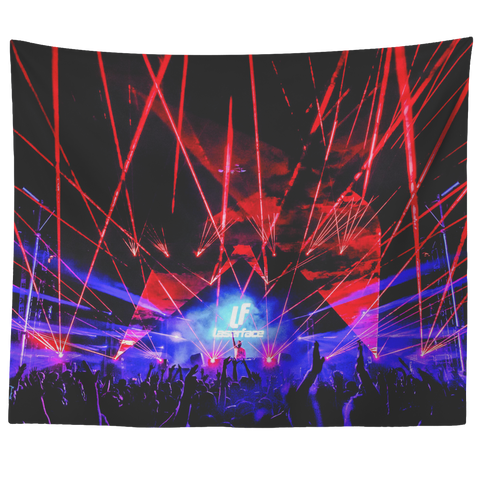Laserface NYC Tapestry