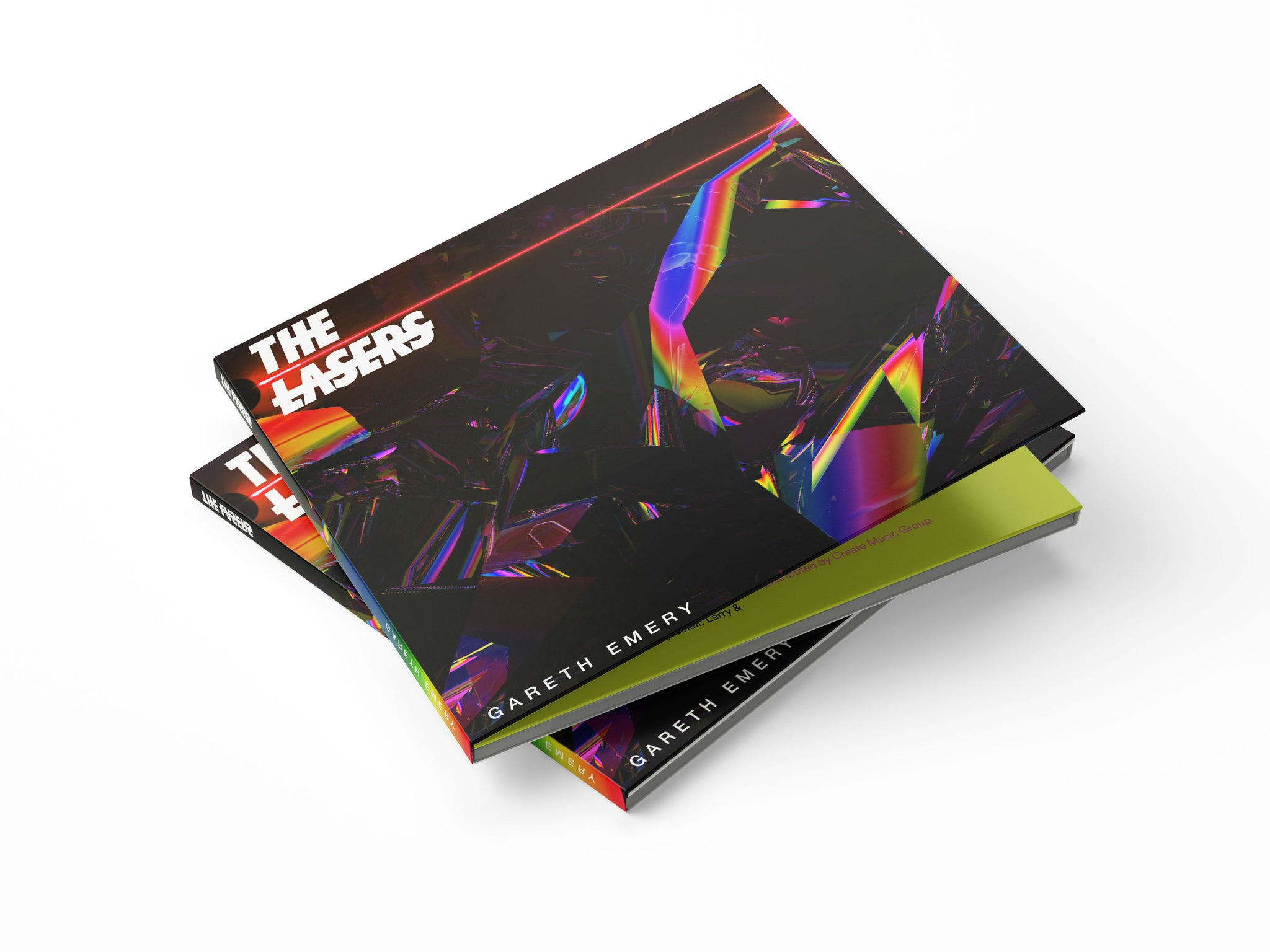 THE LASERS Deluxe CD Digipak w/ Lyric Book. Limited edition, signed & numbered 1/500