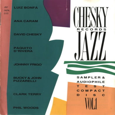 Chesky Records Jazz Sampler & Audiophile Test Compact Disc, Vol. 1 (Various) [WAV DOWNLOAD]