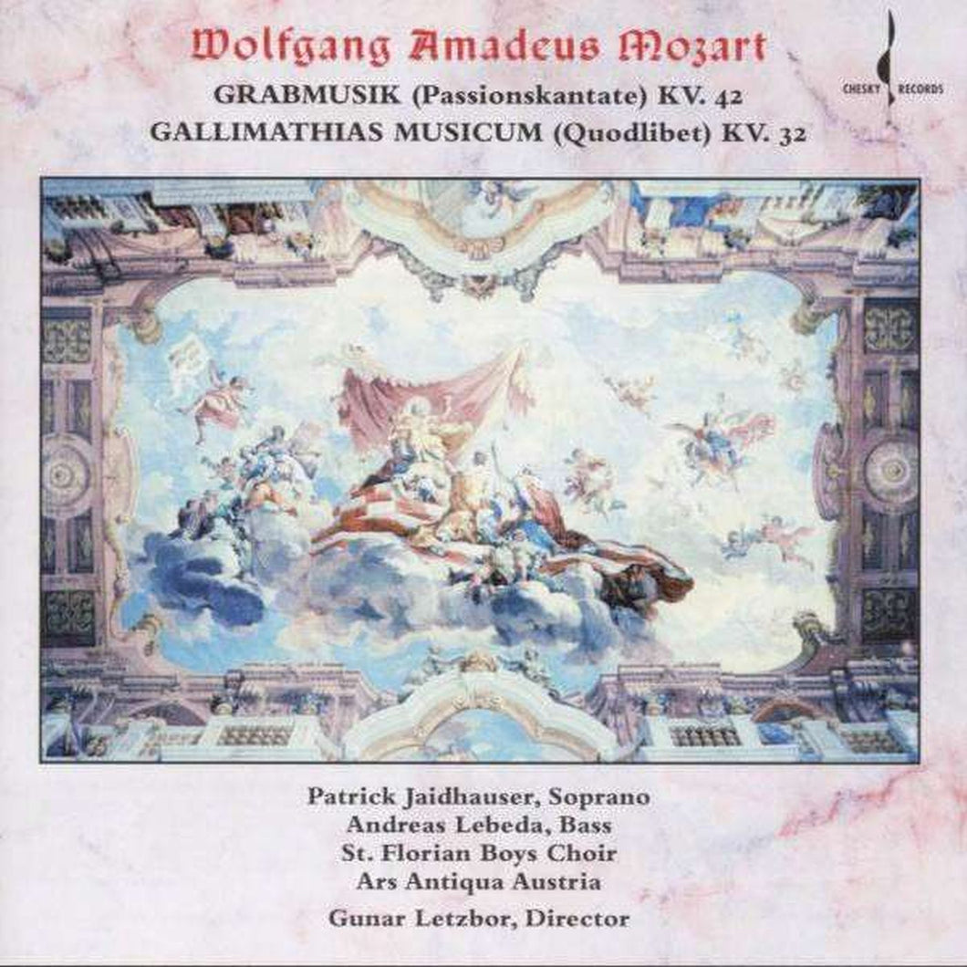 Mozart: Grabmusik KV. 42 / Gallimathias Musicum KV. 32 (Ars Antiqua Austria) [WAV DOWNLOAD]