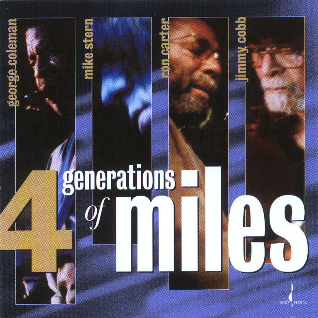 4 Generations of Miles (Various) [WAV DOWNLOAD]