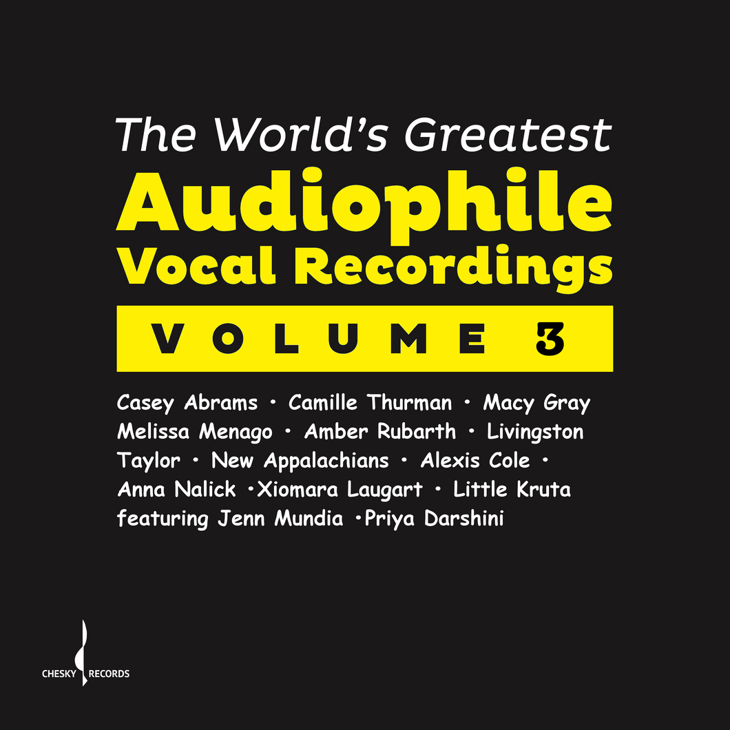 The World's Greatest Audiophile Vocal Recordings Vol. III (Various) [WAV DOWNLOAD]