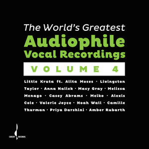 The World's Greatest Audiophile Vocal Recordings Vol. IV (Various) [WAV DOWNLOAD]