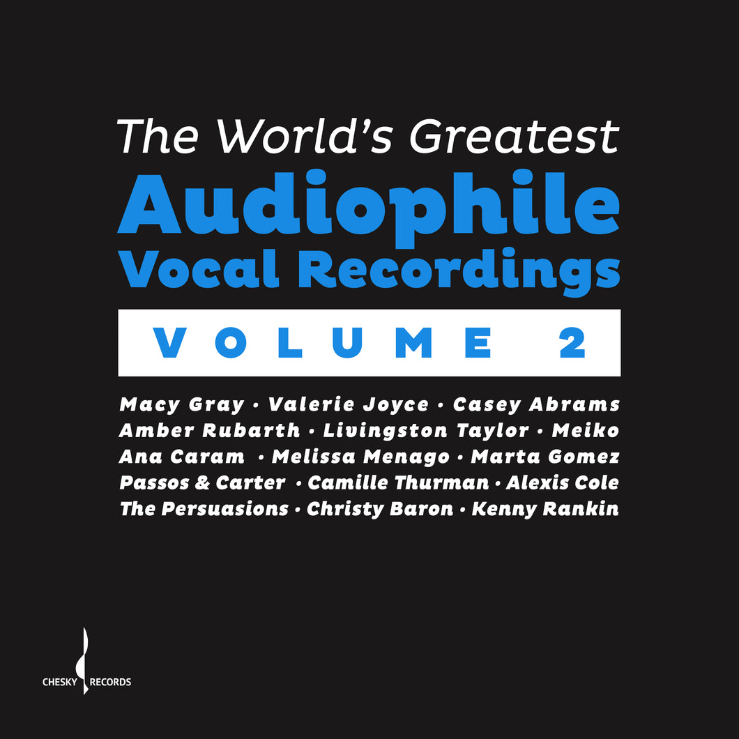 The World's Greatest Audiophile Vocal Recordings Vol. II (Various) [WAV DOWNLOAD]