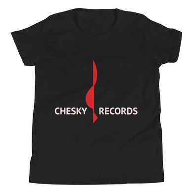 Chesky Records Youth Short Sleeve Tee with Tear Away Label