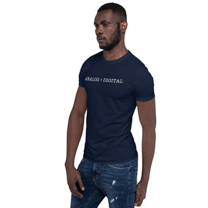 Analog > Digital Short-Sleeve Unisex T-Shirt