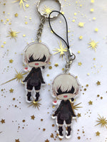 Load image into Gallery viewer, Nier:Automata 2B and 9S | Charms - Aurigae Art &Illustration