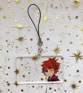 Kingdom Hearts Sora | Charms - Aurigae Art &Illustration