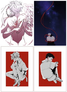 Evangelion | Postcards - Aurigae Art &Illustration