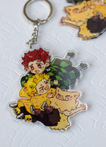 Load image into Gallery viewer, KNY - Chaotic Trio | Charms - Aurigae Art &Illustration