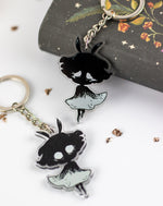 Load image into Gallery viewer, Moth Girl | Charms - Aurigae Art &Illustration
