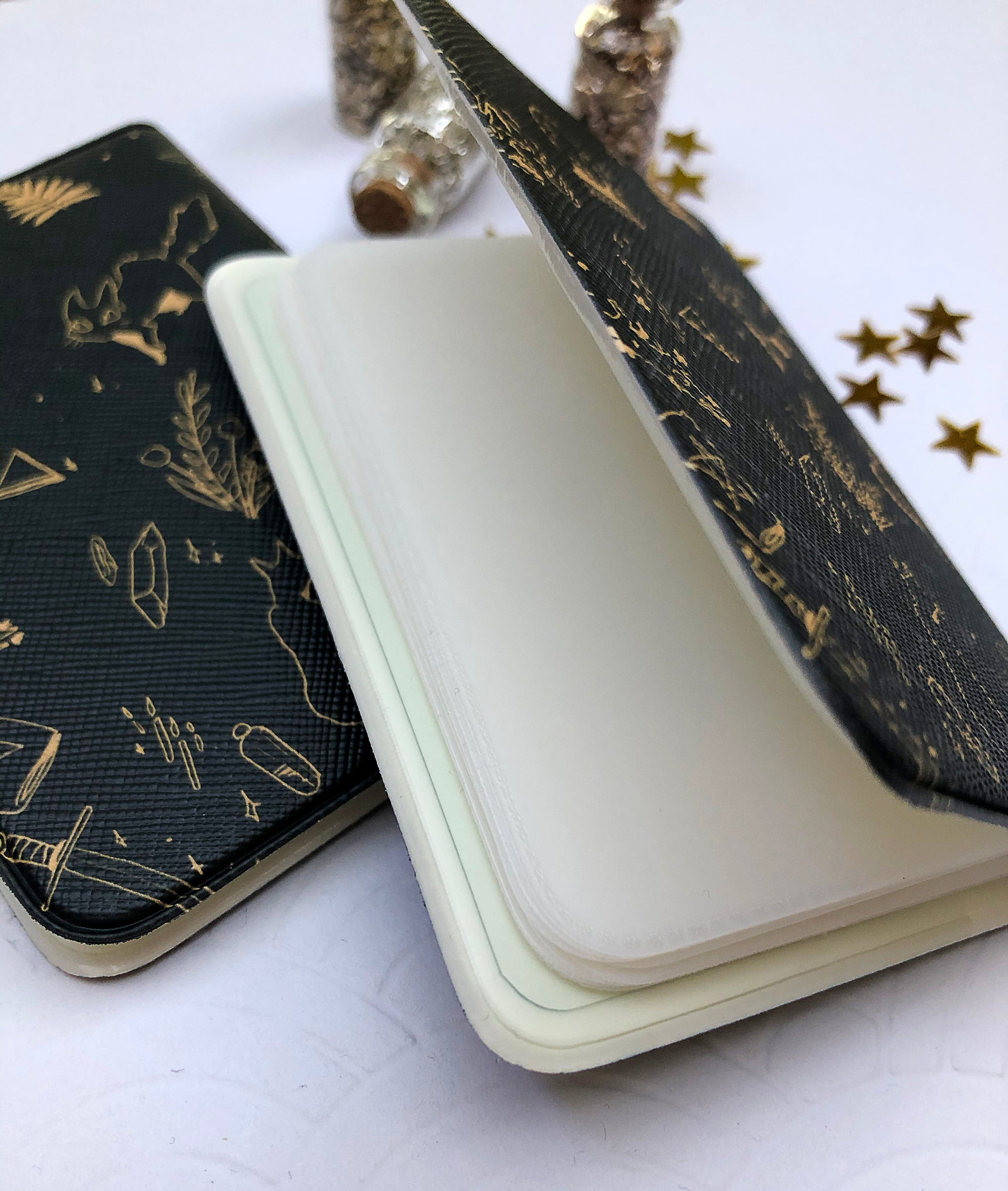 The Witch's Kitten | Card Wallets - Aurigae Art &Illustration