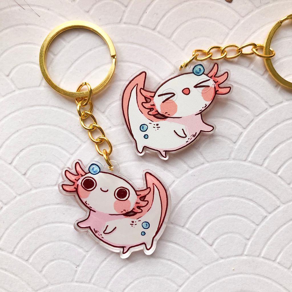 Axolotl | Charms - Aurigae Art &Illustration