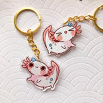 Load image into Gallery viewer, Axolotl | Charms - Aurigae Art &Illustration