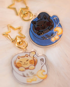 Cute Cappuccino | Charms - Aurigae Art &Illustration