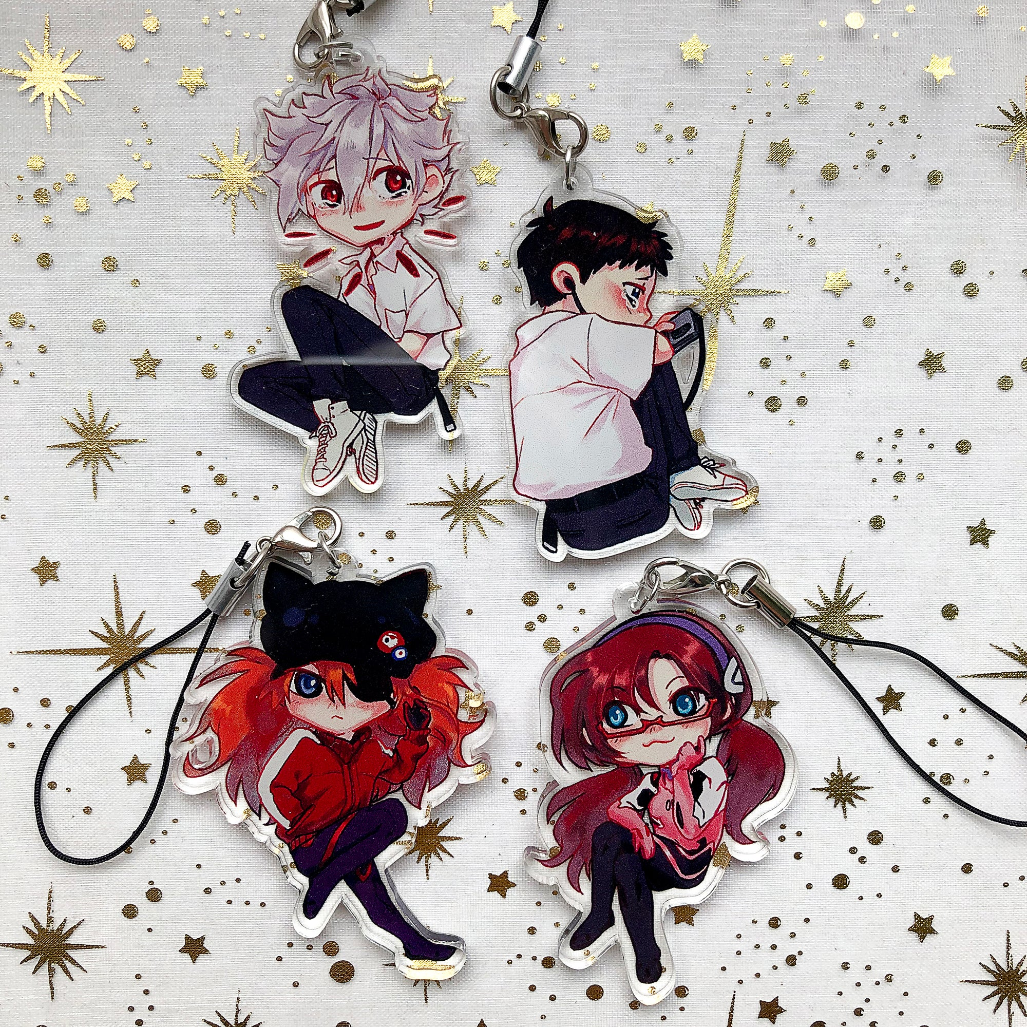 Evangelion Children | Charms - Aurigae Art &Illustration