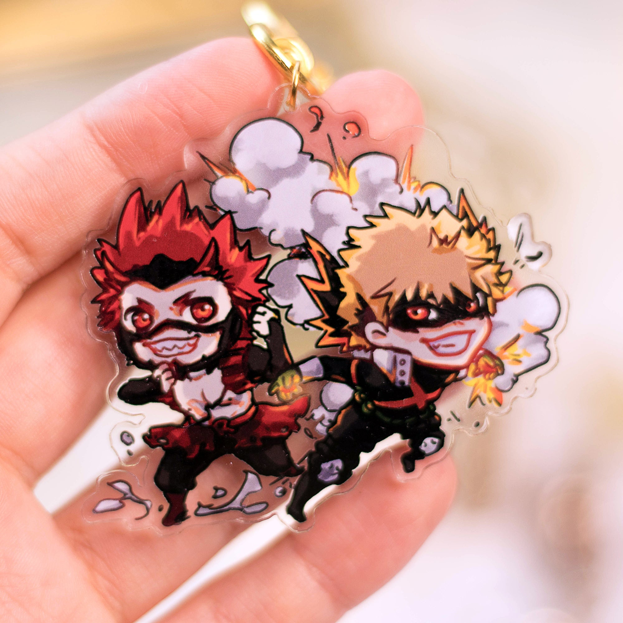 BNHA - Kiribaku | Charms - Aurigae Art &Illustration