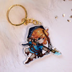 Load image into Gallery viewer, Legend of Zelda - Link with a bow | Charms - Aurigae Art &Illustration