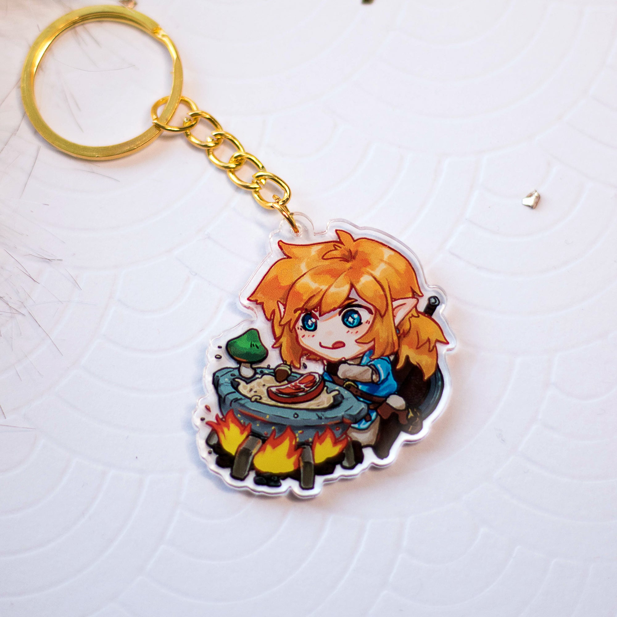 Legend of Zelda - Cooking Link | Charms - Aurigae Art &Illustration