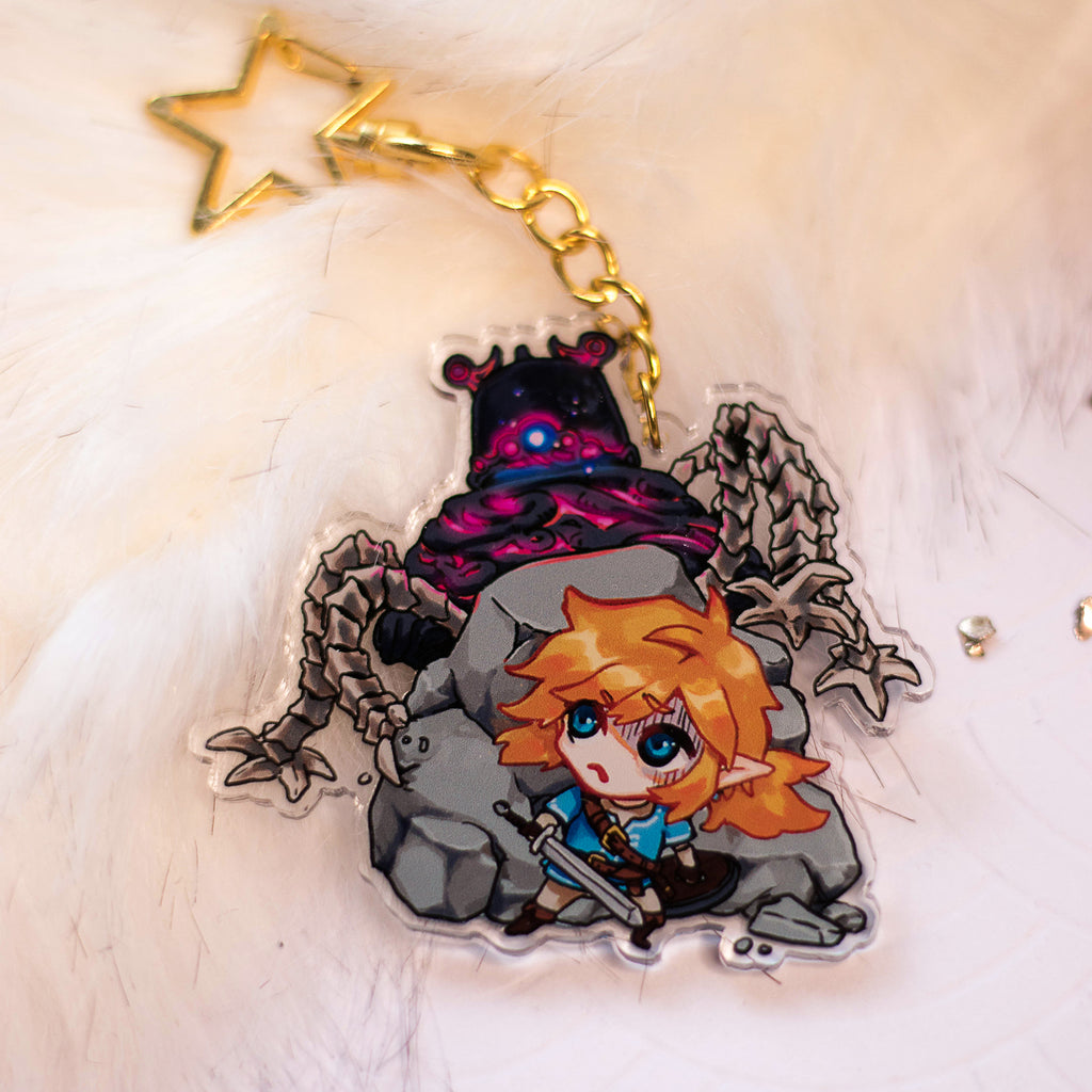 Legend of Zelda - Hide Link! | Charms - Aurigae Art &Illustration