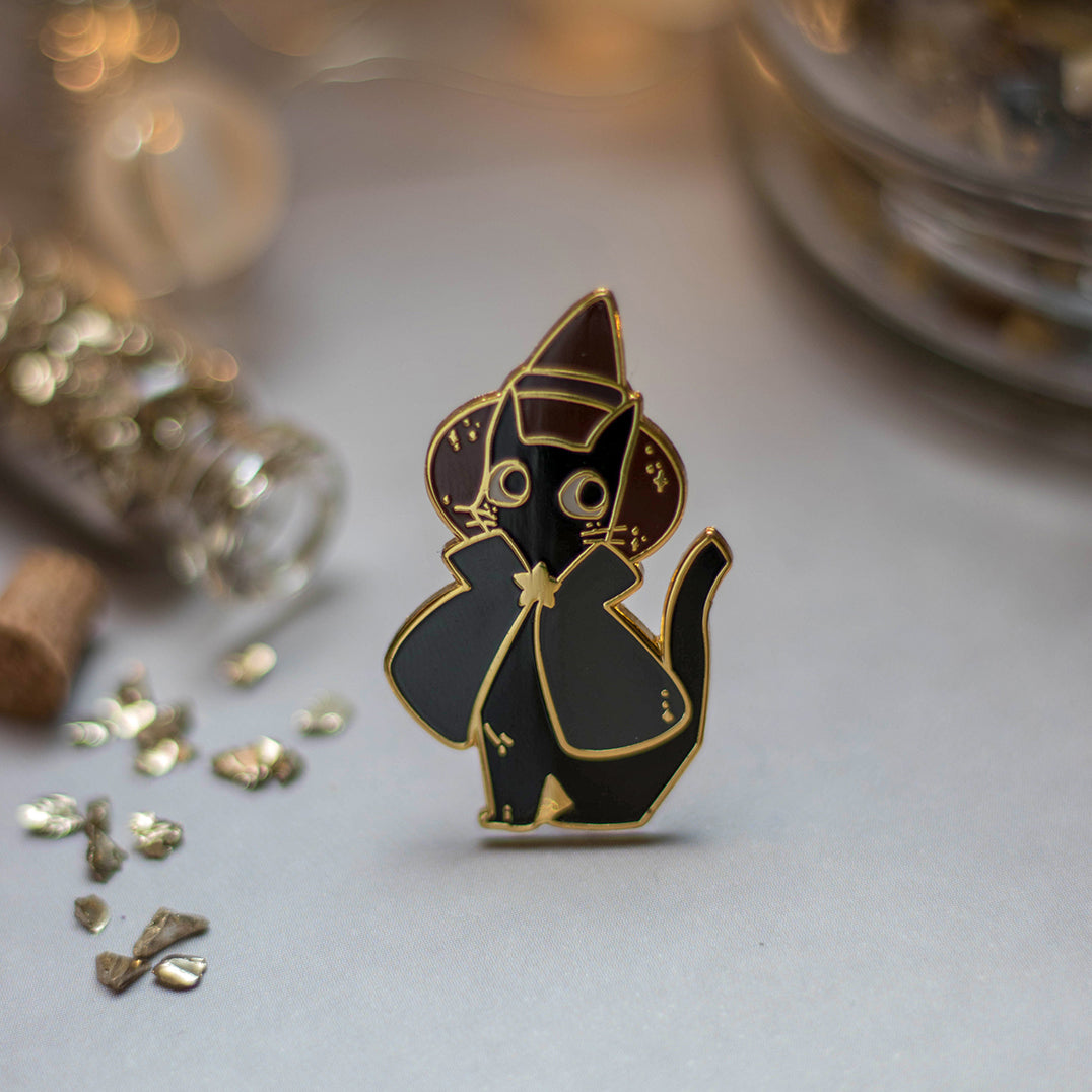 Professional Helper | Enamel Pin - Aurigae Art &Illustration