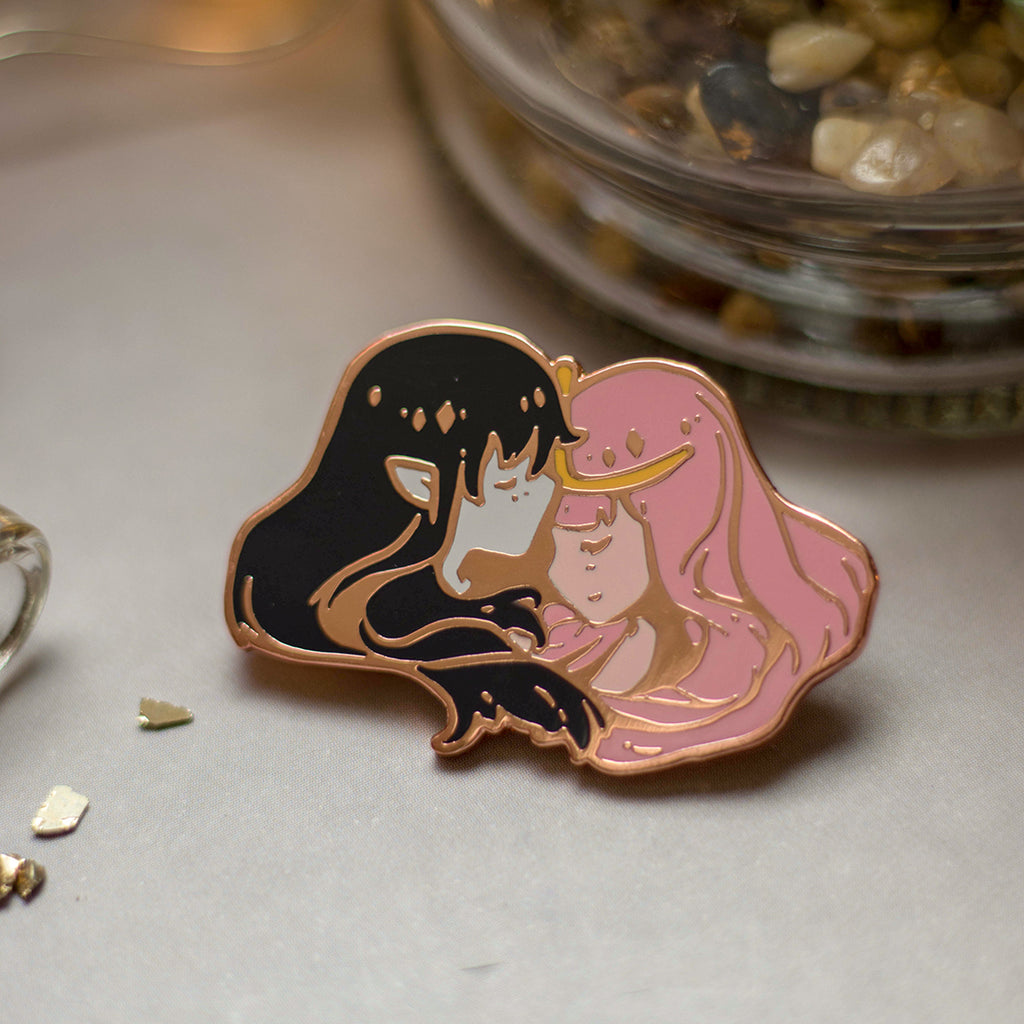Bubbline | Enamel Pin - Aurigae Art &Illustration