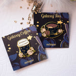 Load image into Gallery viewer, Galaxy Coffee | Enamel Pin - Aurigae Art &Illustration