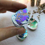 Load image into Gallery viewer, Rainbow Bubble Tea | Enamel Pin - Aurigae Art &Illustration