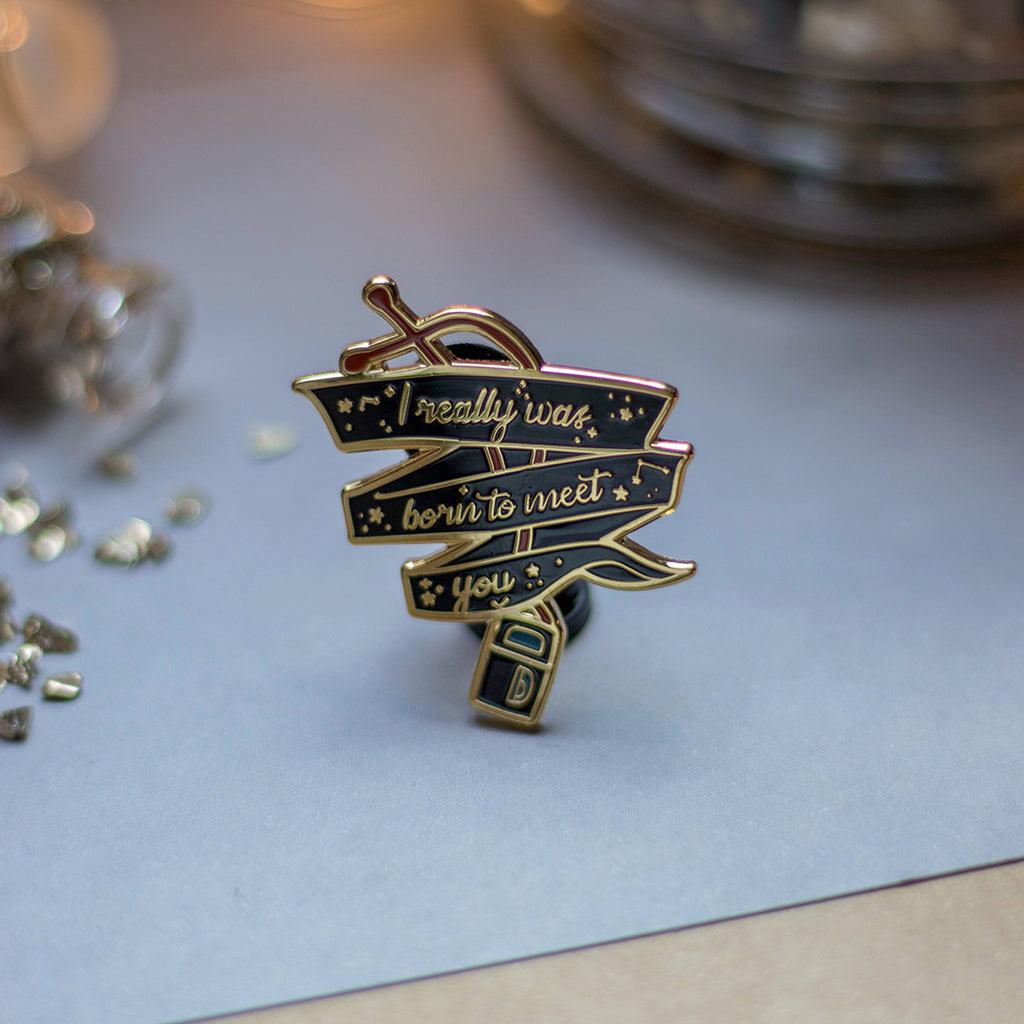 SDAT Player | Enamel Pin - Aurigae Art &Illustration
