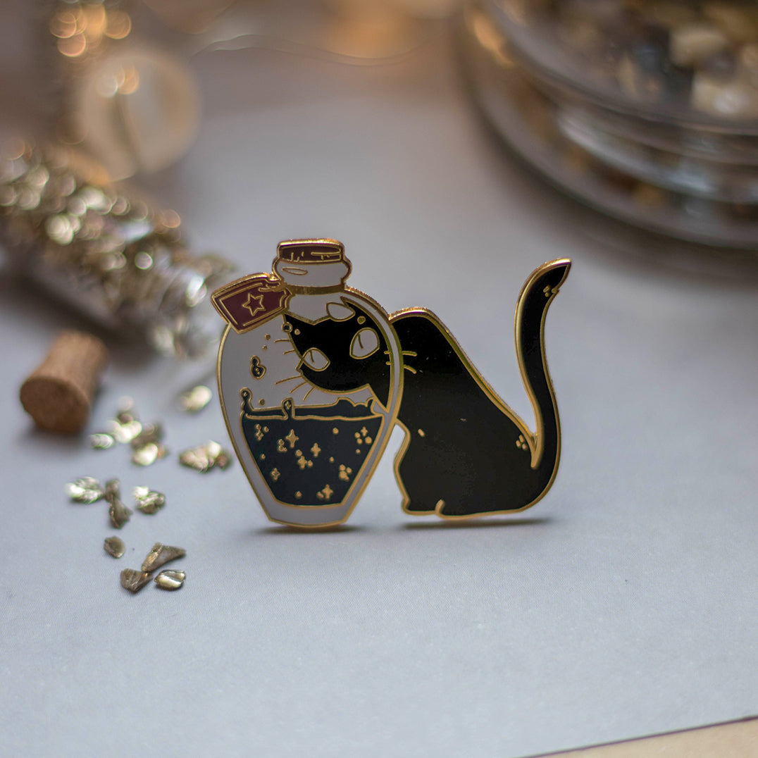 Starry Potion | Enamel Pin - Aurigae Art &Illustration