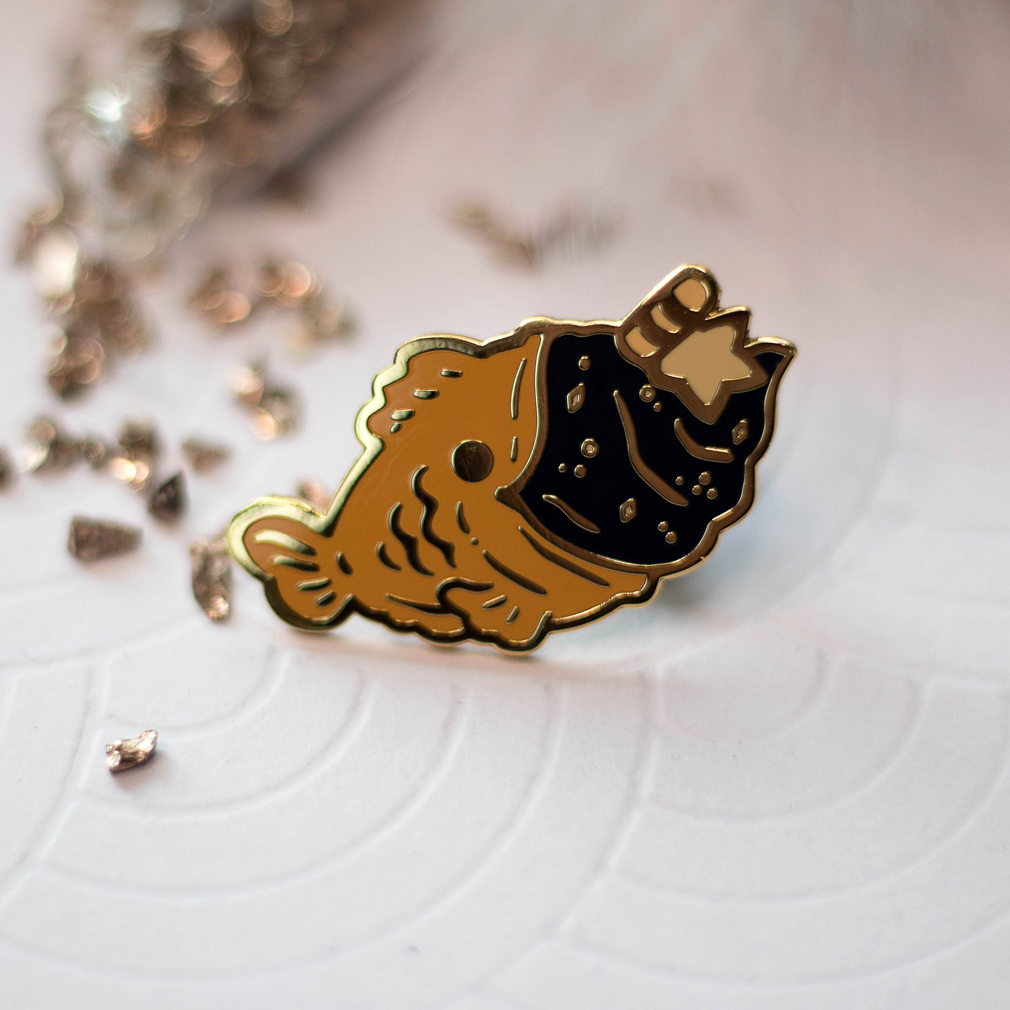 Starry Taiyaki | Enamel Pin - Aurigae Art &Illustration