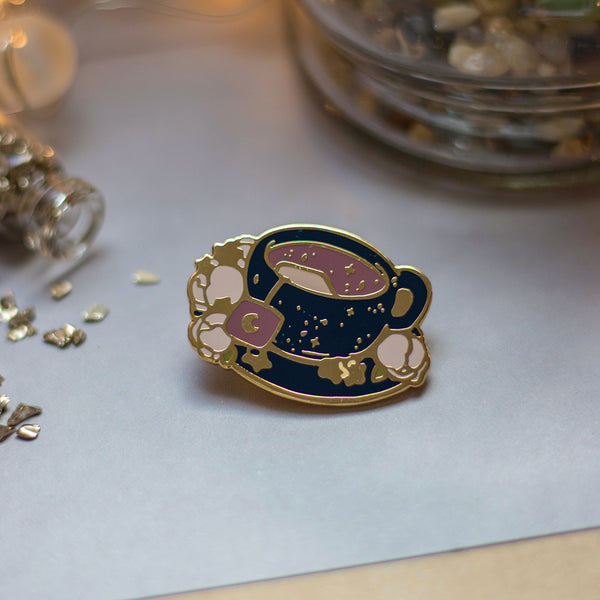 Galaxy Tea | Enamel Pin